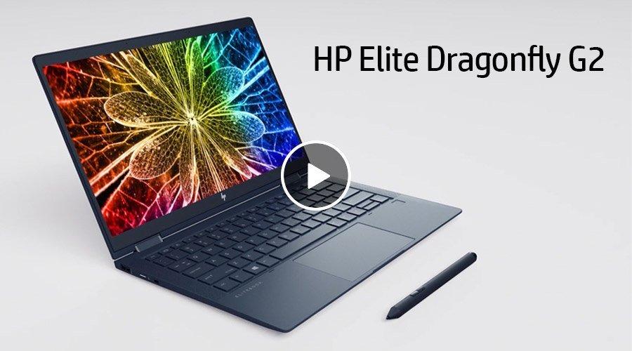 HP Elite Dragonfly G2 동영상 보기