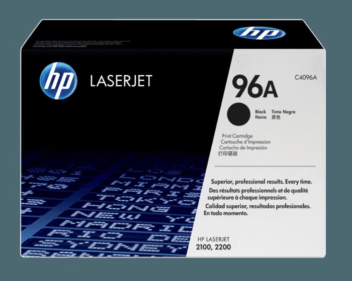 HP 레이저젯 C4096A 검정색 토너 카트리지, 초미립자 토너 포함