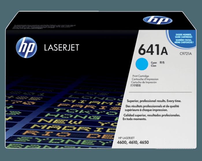 HP 641A Cyan Original LaserJet Toner Cartridge