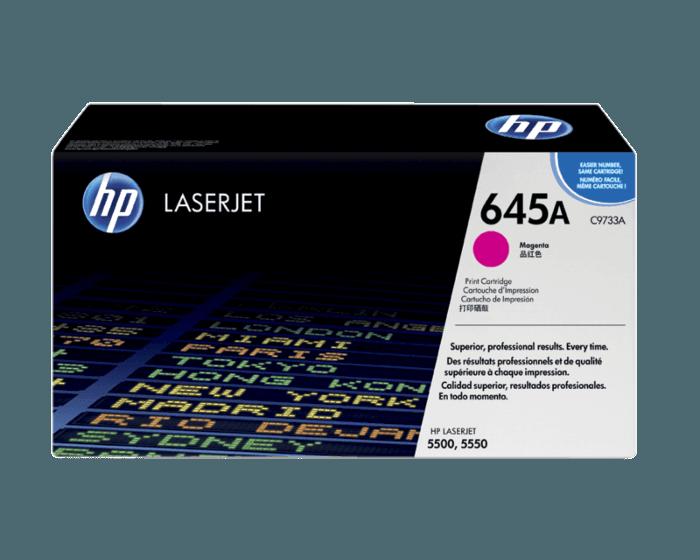 HP 645A 마젠타 정품 레이저젯 토너 카트리지