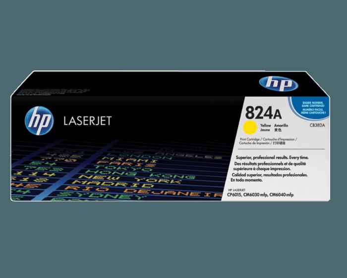HP 824A 노랑 정품 레이저젯 토너 카트리지