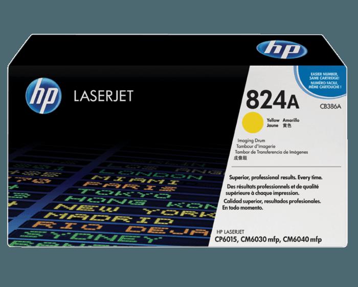 HP 824A 노랑 레이저젯 이미지 드럼