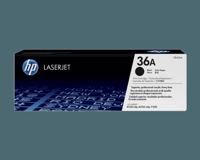 HP 36A 검정 정품 LaserJet 토너 카트리지