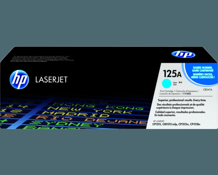 HP 125A 시안 정품 레이저젯 토너 카트리지