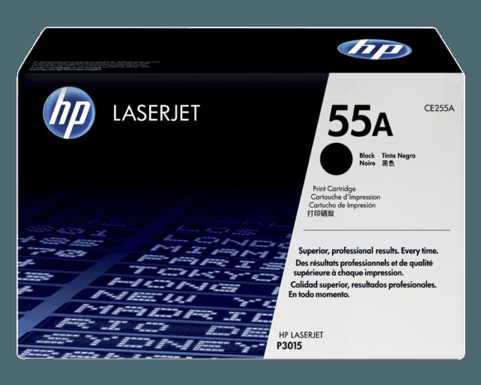 HP 55A 검정 정품 레이저젯 토너 카트리지