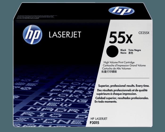 HP 55X 대용량 검정 정품 레이저젯 토너 카트리지