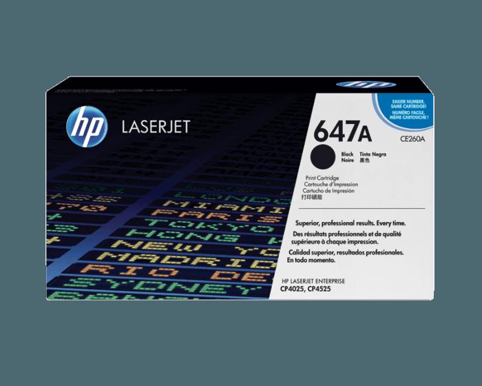 HP 647A 검정 정품 LaserJet 토너 카트리지