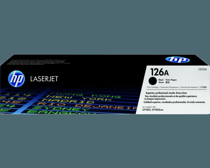HP 126A 검정 정품 레이저젯 토너 카트리지