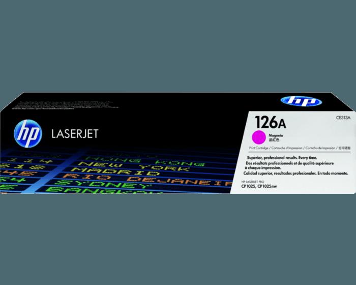 HP 126A 마젠타 정품 레이저젯 토너 카트리지