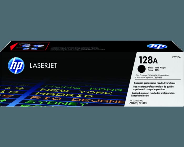 HP 128A 검정 정품 LaserJet 토너 카트리지