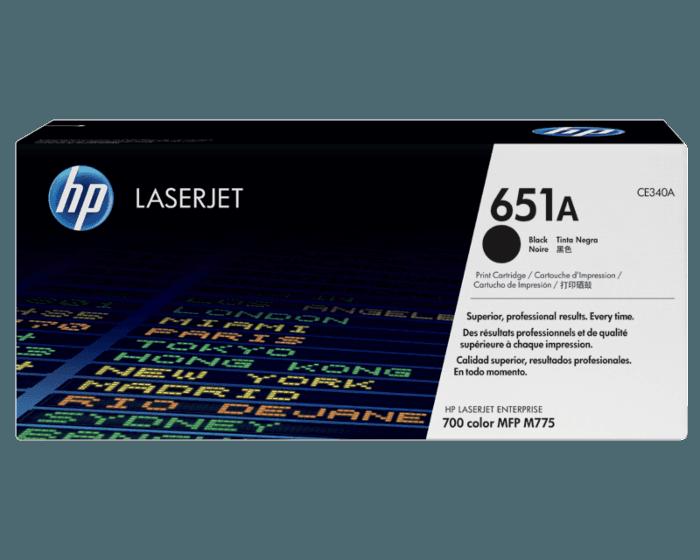HP 651A 검정 정품 레이저젯 토너 카트리지