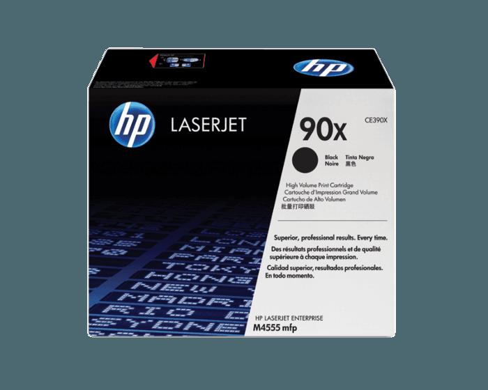HP 90X 대용량 검정 정품 레이저젯 토너 카트리지
