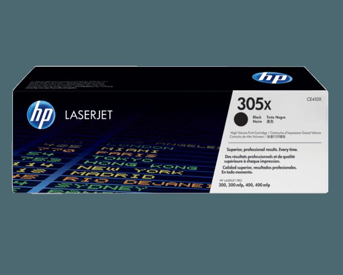 HP 305X 대용량 검정 정품 레이저젯 토너 카트리지