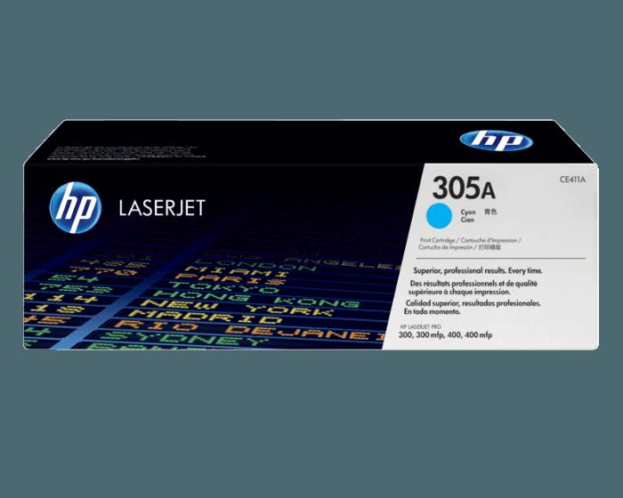 HP 305A 시안 정품 레이저젯 토너 카트리지