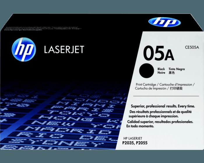 HP 05A 검정 정품 LaserJet 토너 카트리지