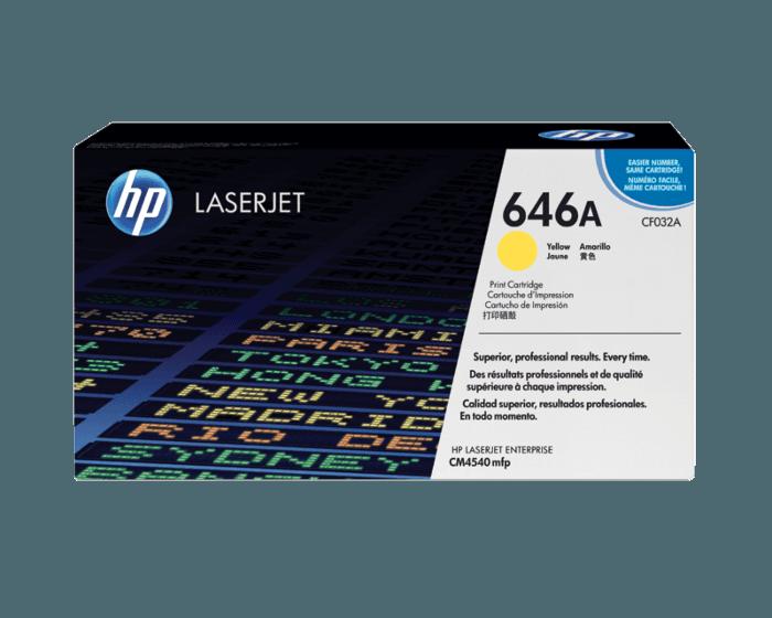 HP 646A 노랑 정품 레이저젯 토너 카트리지