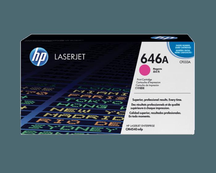 HP 646A 마젠타 정품 레이저젯 토너 카트리지