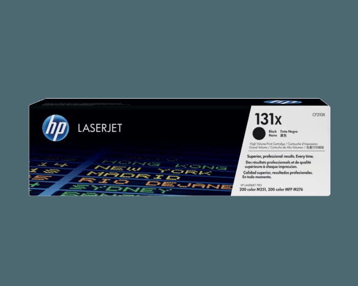 HP 131X 대용량 검정 정품 레이저젯 토너 카트리지