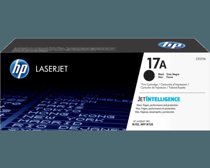 HP 17A 검정 정품 LaserJet 토너 카트리지