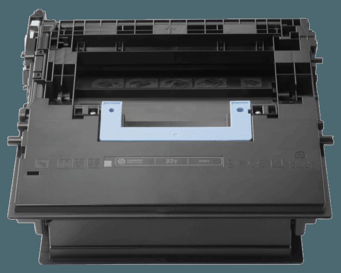 HP 37Y 초대용량 검정 정품 LaserJet 토너 카트리지