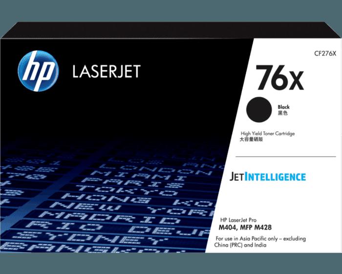 HP 76X 대용량 검정 정품 LaserJet 토너 카트리지