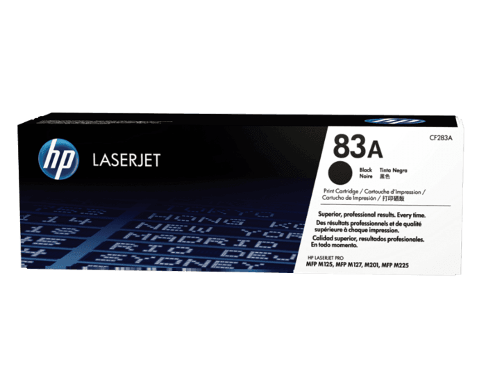 HP 83A 검정 정품 레이저젯 토너 카트리지