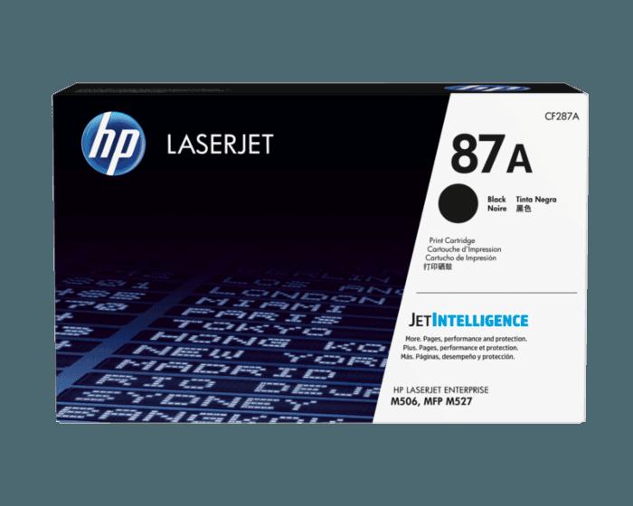 HP 87A 검정 정품 LaserJet 토너 카트리지