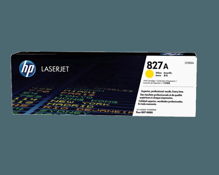 HP 827A 노랑 정품 레이저젯 토너 카트리지
