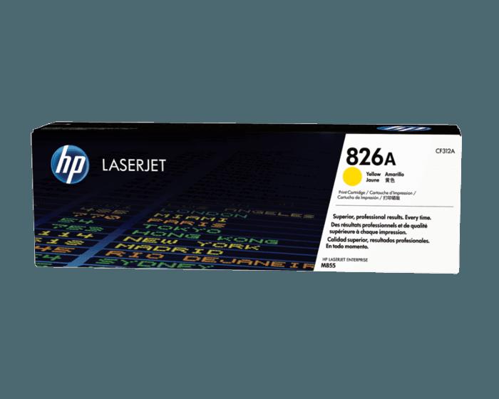 HP 826A 노랑 정품 레이저젯 토너 카트리지