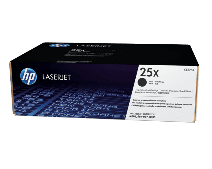 HP 25X 대용량 검정 정품 레이저젯 토너 카트리지