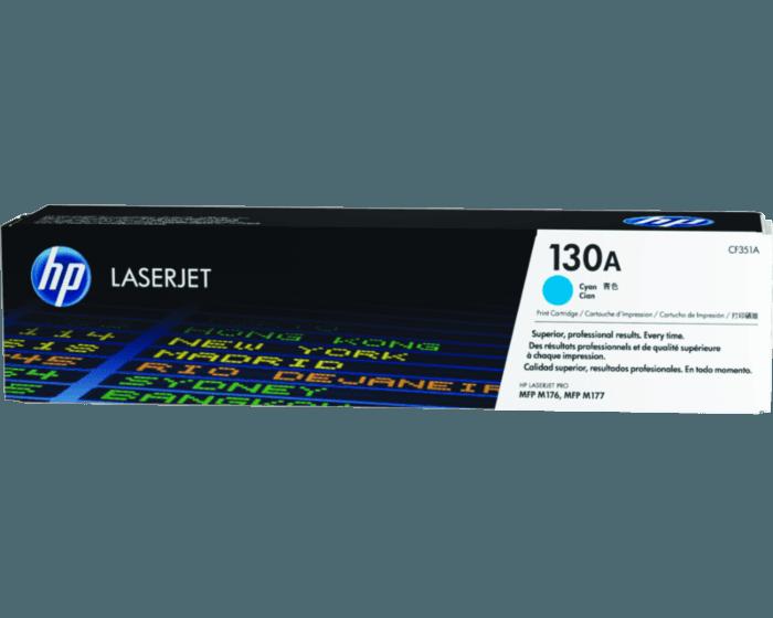HP 130A 시안 정품 레이저젯 토너 카트리지