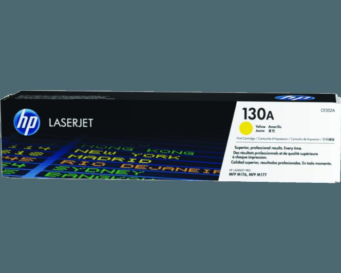 HP 130A 노랑 정품 레이저젯 토너 카트리지