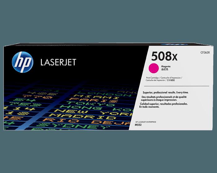 HP 508X 대용량 마젠타 정품 레이저젯 토너 카트리지