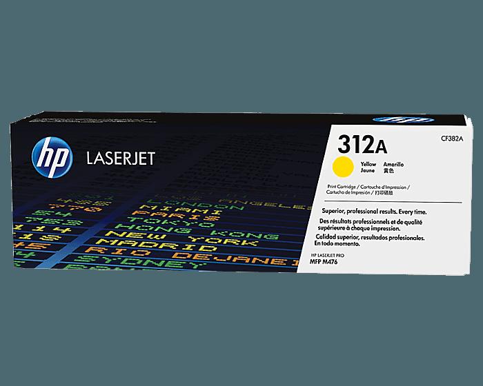 HP 312A 노랑 정품 레이저젯 토너 카트리지