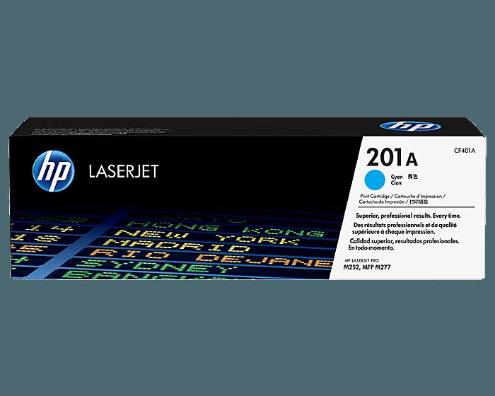 HP 201A 시안 정품 레이저젯 토너 카트리지