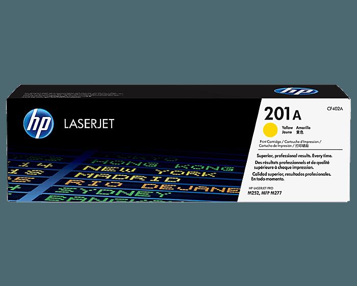 HP 201A 노랑 정품 레이저젯 토너 카트리지