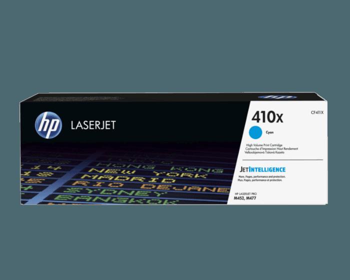 HP 410X 대용량 시안 정품 레이저젯 토너 카트리지