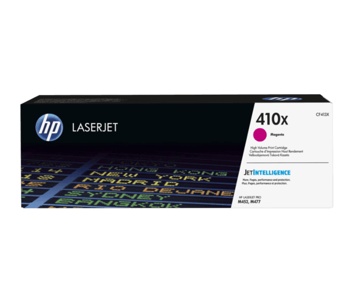 HP 410X 대용량 마젠타 정품 레이저젯 토너 카트리지