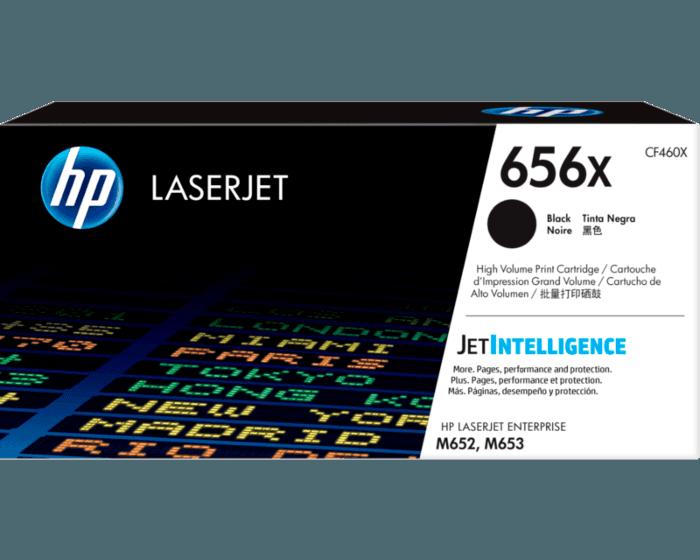 HP 656X 대용량 검정 정품 LaserJet 토너 카트리지