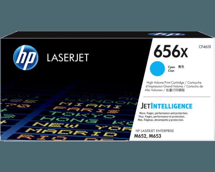 HP 656X 대용량 시안 정품 LaserJet 토너 카트리지