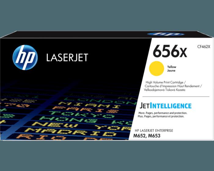HP 656X 대용량 노랑 정품 LaserJet 토너 카트리지