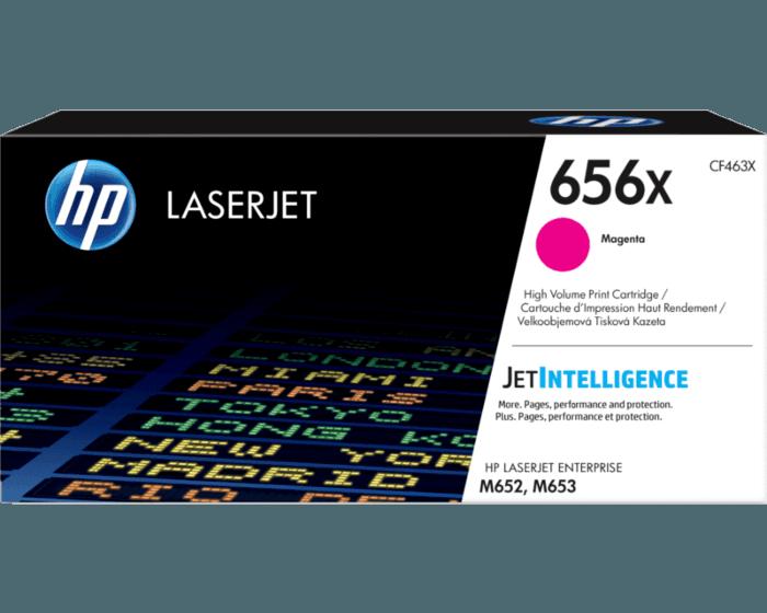 HP 656X 대용량 마젠타 정품 LaserJet 토너 카트리지