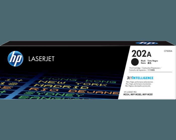 HP 202A 검정 정품 LaserJet 토너 카트리지