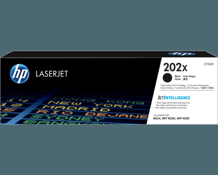 HP 202X 대용량 검정 정품 LaserJet 토너 카트리지