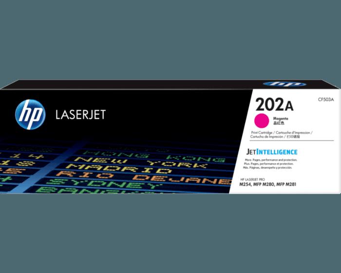 HP 202A 마젠타 정품 LaserJet 토너 카트리지