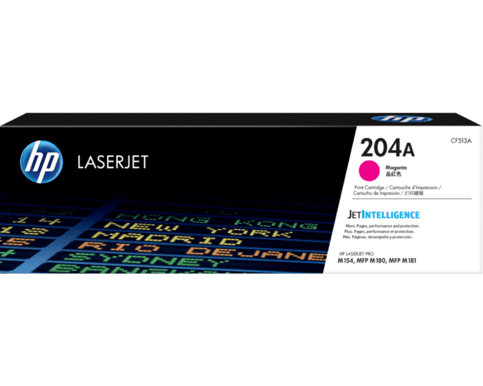 HP 204A 마젠타 정품 LaserJet 토너 카트리지