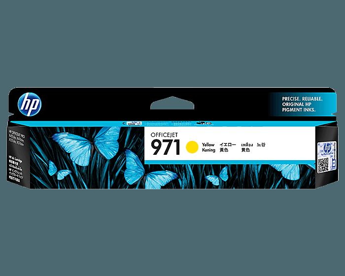 HP 971 노랑 정품 잉크 카트리지