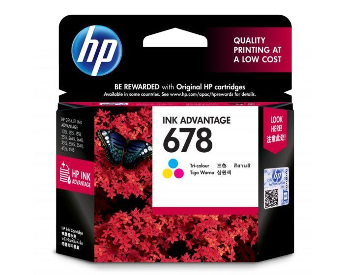 HP 678 3색 정품 잉크 고급 카트리지