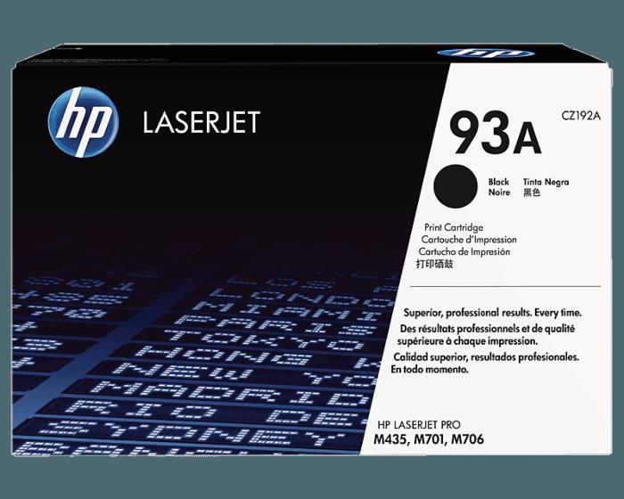 HP 93A 검정 정품 레이저젯 토너 카트리지