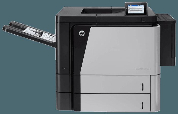 HP 레이저젯 엔터프라이즈 M806dn 프린터